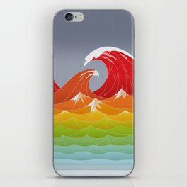 Beaufort Scale iPhone Skin