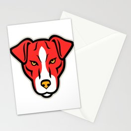 Plummer Terrier Dog Front Mascot Stationery Cards