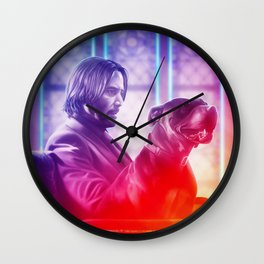 One Man and His Dog Wall Clock