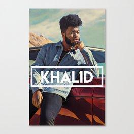 Khalid Canvas Print