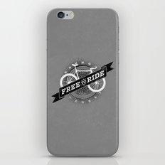 Free To Ride iPhone & iPod Skin