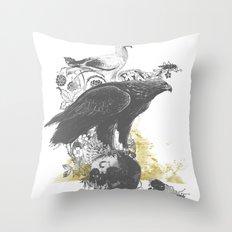 the watchers 3 B+W Throw Pillow