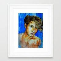 jake Framed Art Prints featuring Jake by Marone