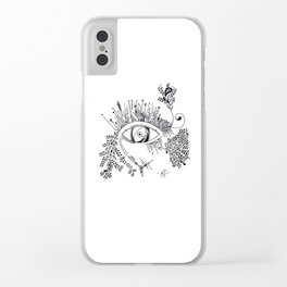 The eye watching you Clear iPhone Case