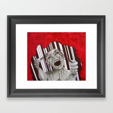 The Wait Framed Art Print