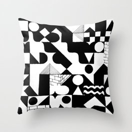 GRID Throw Pillow