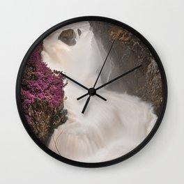 Passion Falls Wall Clock