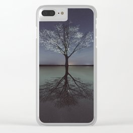 Mirrored Reality Clear iPhone Case