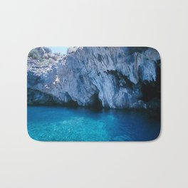 NATURE'S WONDER #5 - BLUE GROTTO (Turkey) #2 #art #society6 Bath Mat