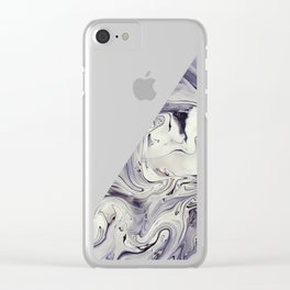 Obsidian Clear iPhone Case