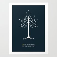 Lord Of The Rings ROTK Art Print