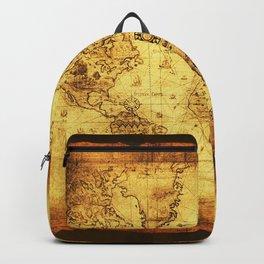 Arty Vintage Old World Map Backpack