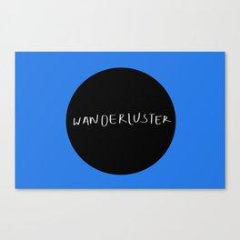 Wanderluster Canvas Print