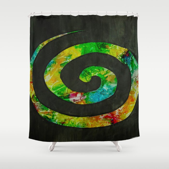 Path of Enlightment Shower Curtain