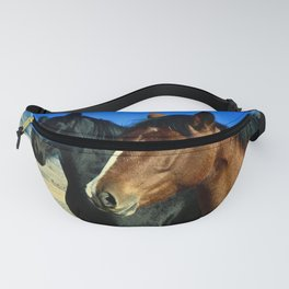 A Couple of Horses Fanny Pack