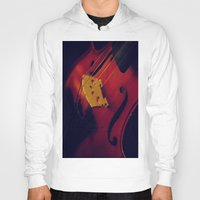 violin Hoodies featuring Violin by KimberosePhotography