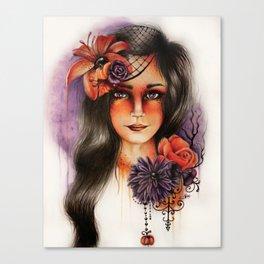 Hallows Eva Canvas Print