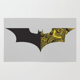 Laced BAT-man Rug
