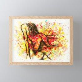 Hot Breakfast Framed Mini Art Print