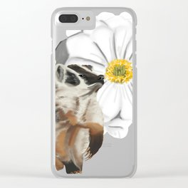 A Zinnia for Badger Clear iPhone Case