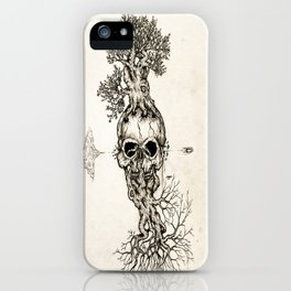 Life is fragile iPhone Case