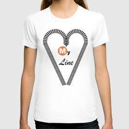 Heart My Line T-shirt