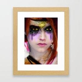 half angle,half devil Framed Art Print