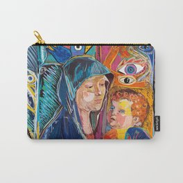 Bellini Street Art Graffiti Remix Carry-All Pouch