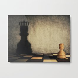 pawn glorification Metal Print