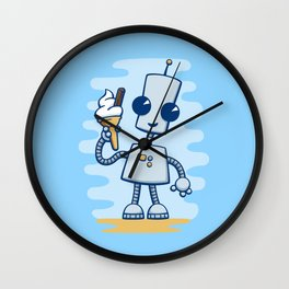 Ned's Ice Cream Wall Clock
