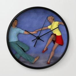 Lindy Hop Wall Clock