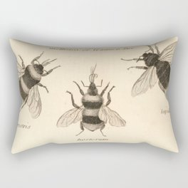 Naturalist Bees Rectangular Pillow