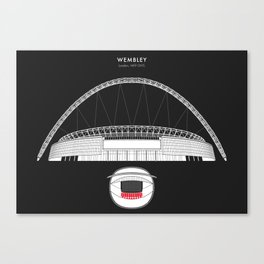 WEMBLEY STADIUM - London, England  Canvas Print