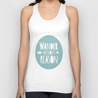 wander Tank Tops featuring Wander by Zen and Chic