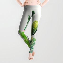 Cactus Garden II Leggings