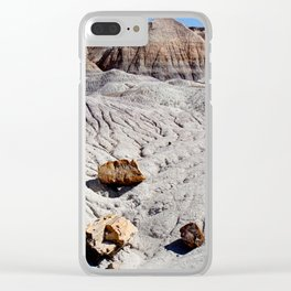 The Painted Desert & Petrified Forest Clear iPhone Case
