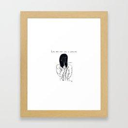 S E C R E T Framed Art Print