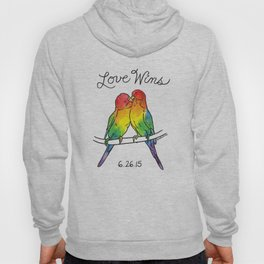 #LoveWins Birds Hoody