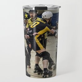 Tyne and Fear on the offense Travel Mug
