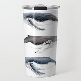 Humpback whales Travel Mug