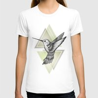 hummingbird T-shirts featuring Hummingbird by Barlena
