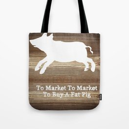 To Market Tote Bag