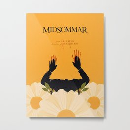 Midsommar Pastel Color Poster 02 Metal Print