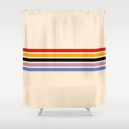 Colorful Freeway Naozane Shower Curtain