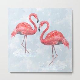 Flamingo # society6 #decor Metal Print