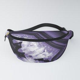 Ultra Violet Agate Chic #1 #gem #decor #art #society6 Fanny Pack
