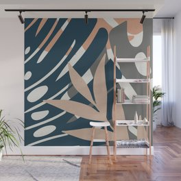 Monstera Details Wall Mural