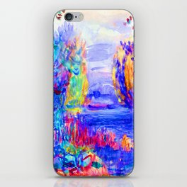 Renoir River Landscape iPhone Skin