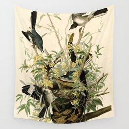 Mockingbirds and Rattlesnake Wall Tapestry