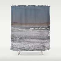 western Shower Curtains featuring Western Sahara by Heidi Ingram